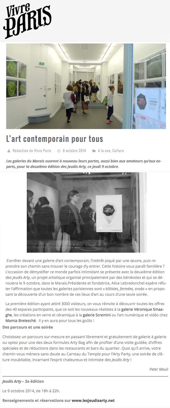 Vivre Paris - Eté 2015