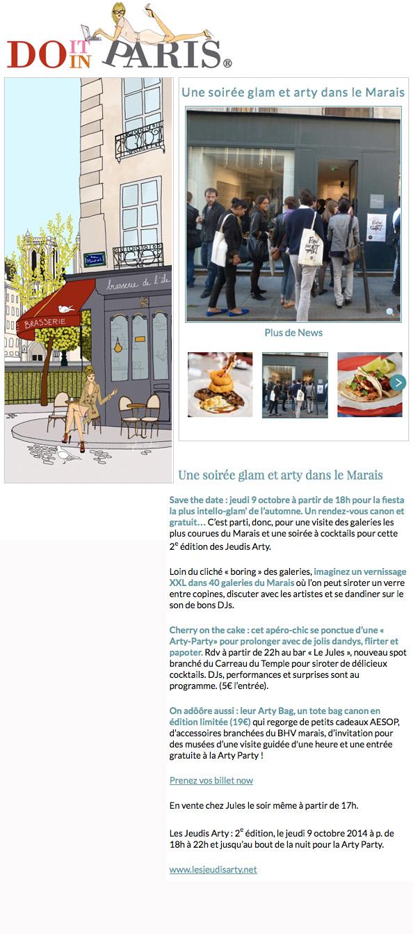 Do it in Paris - Octobre 2014