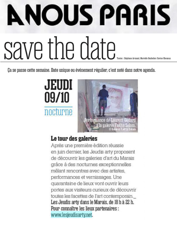 A Nous Paris - 6 octobre 2014