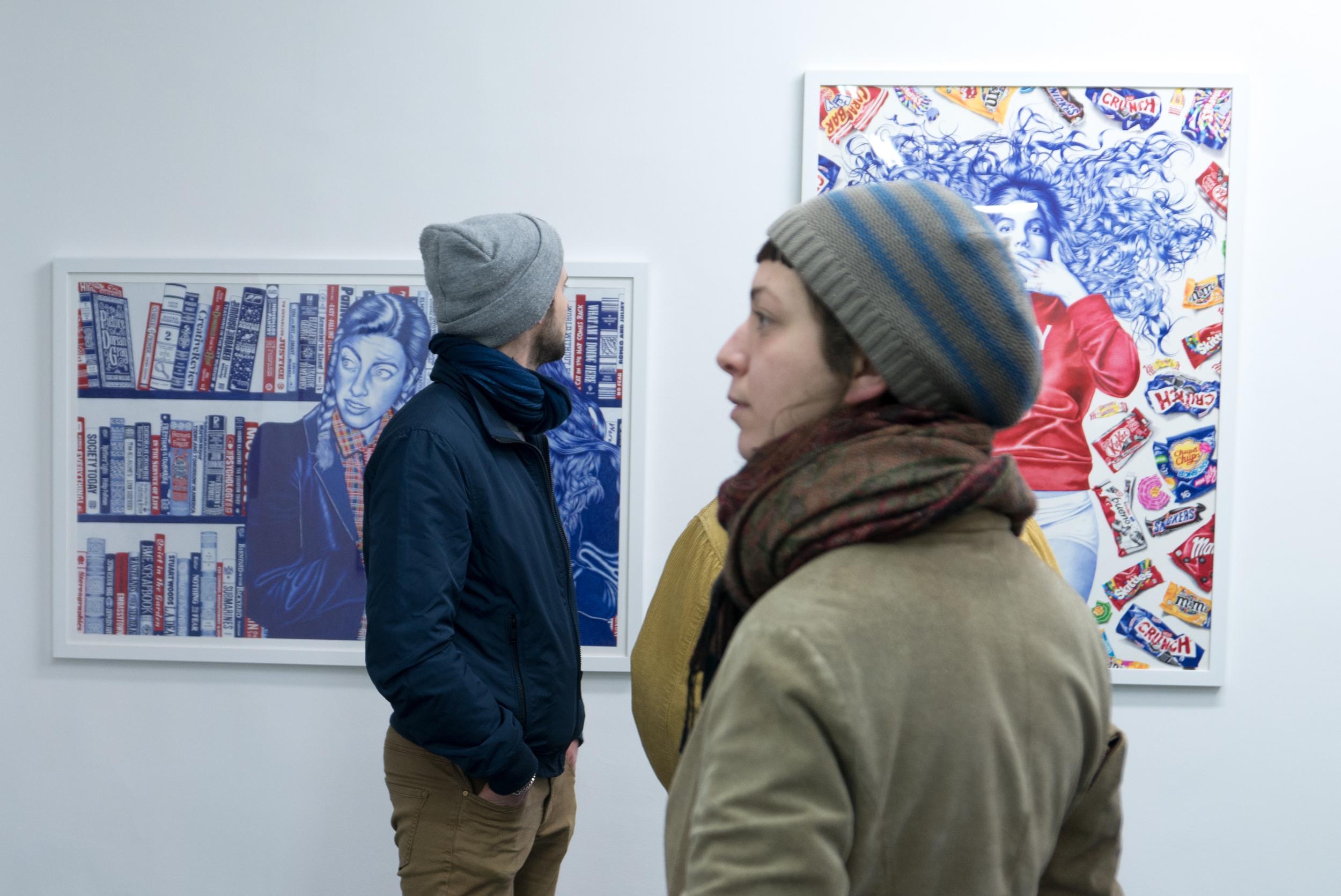 A la galerie Metropolis @Ghizlène Lachachi.jpg