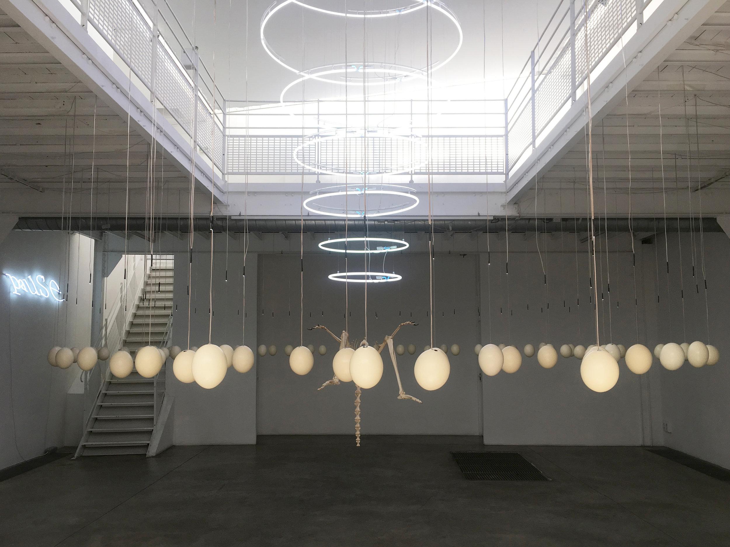Gallery Exhibition view Art Orienté Objet, 2018, Courtesy Galerie Les filles du calvaire
