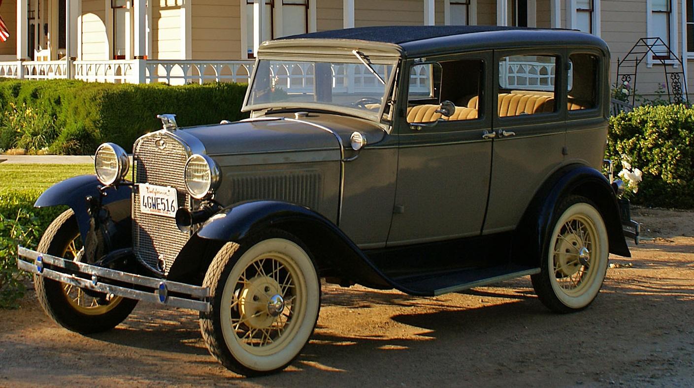 1931 Ford Model A Slant Window