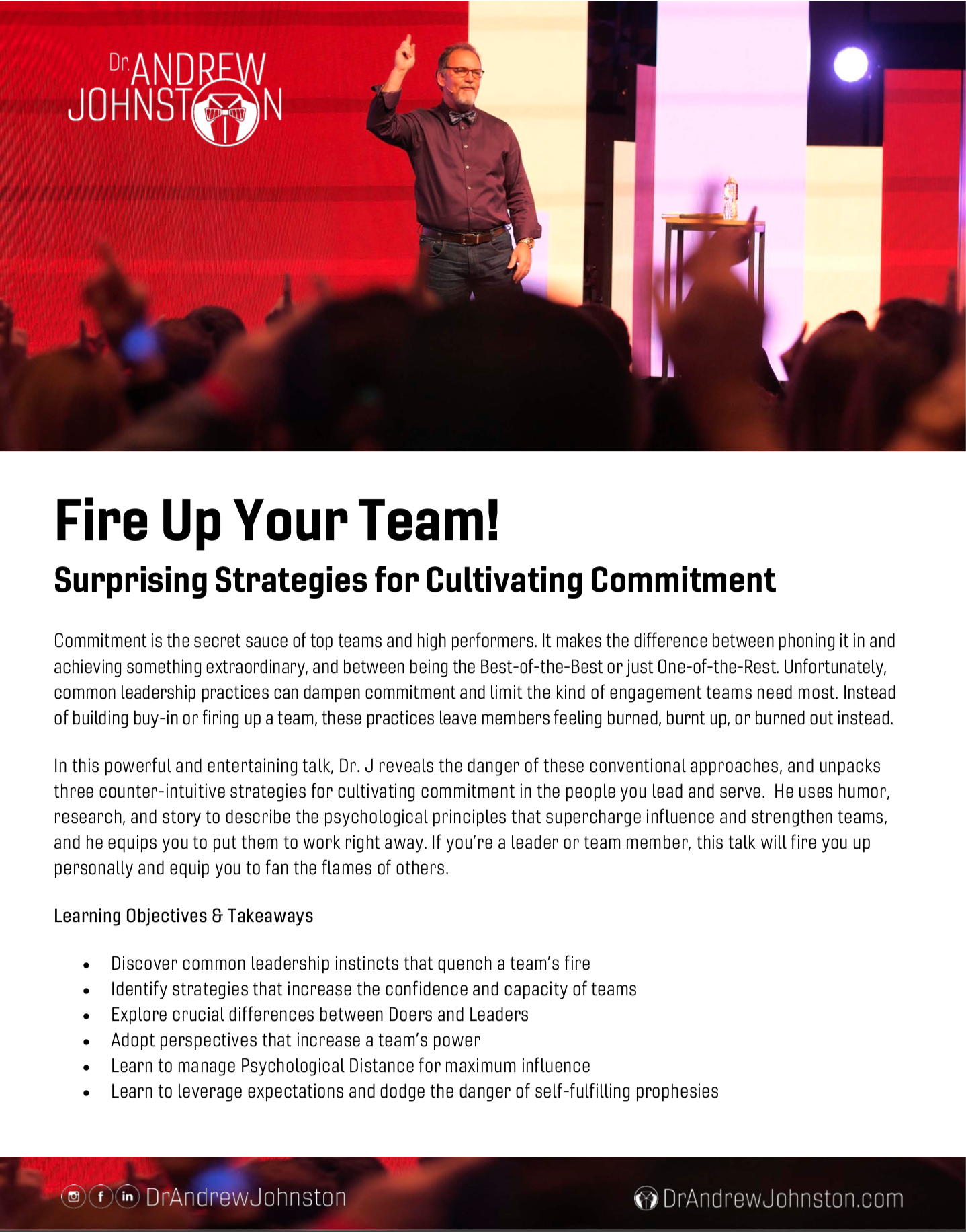 Fire Up Your Team Keynote