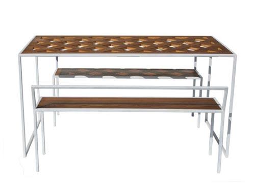 Plaid Table