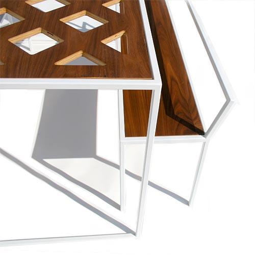 Plaid Table (detail)