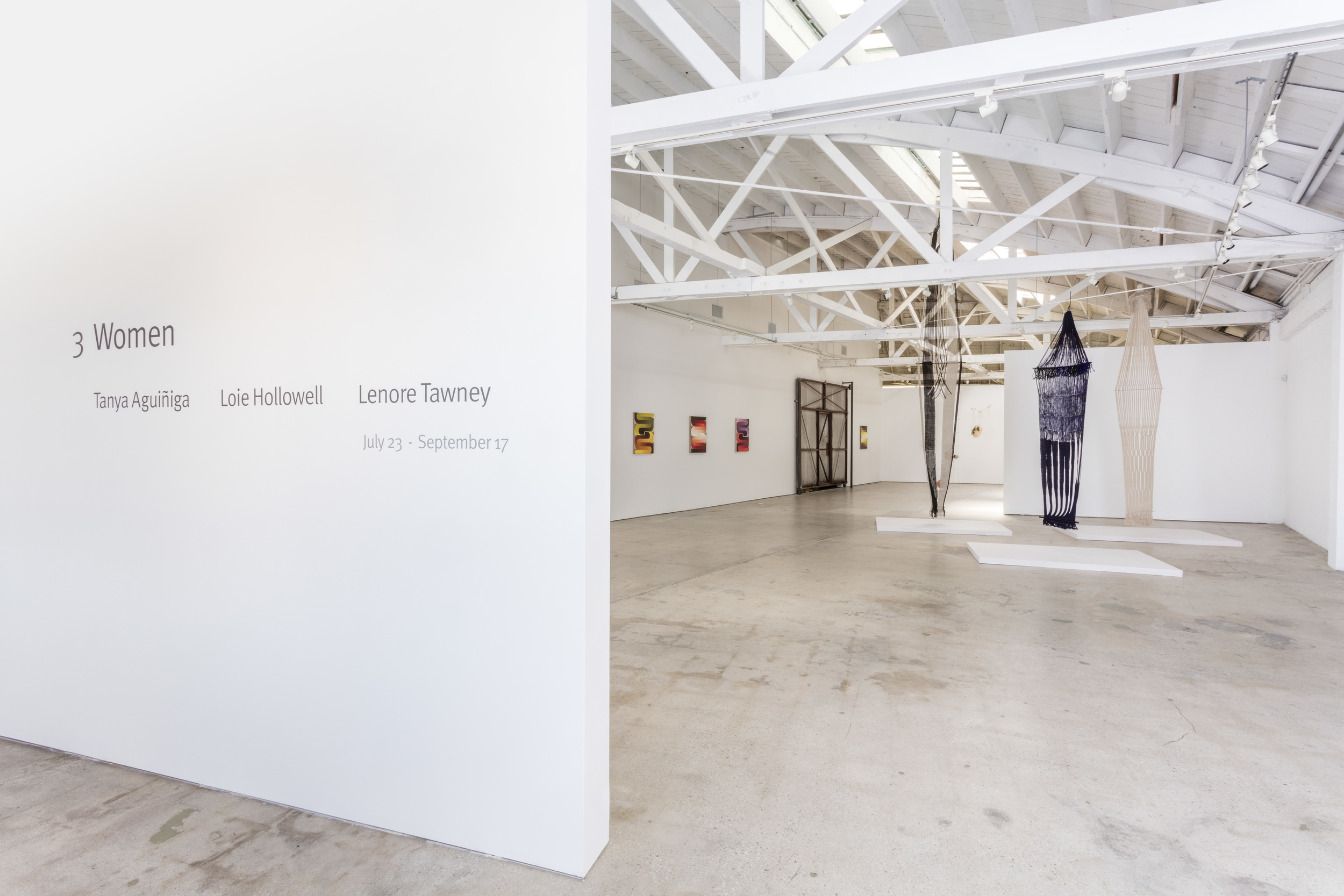 3 Women  (July 23 - September 17, 2016) installation view    Joshua White/JW Pictures, courtesy of the Landing, Los Angeles