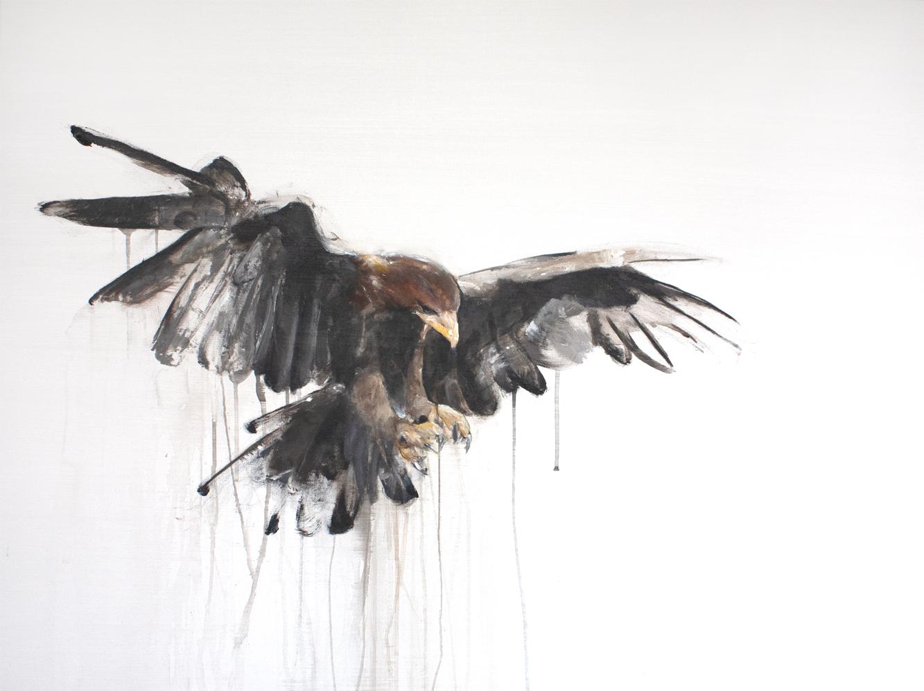 GOLDEN EAGLE I_Animals In Motion_MyriamRousseauArt.png