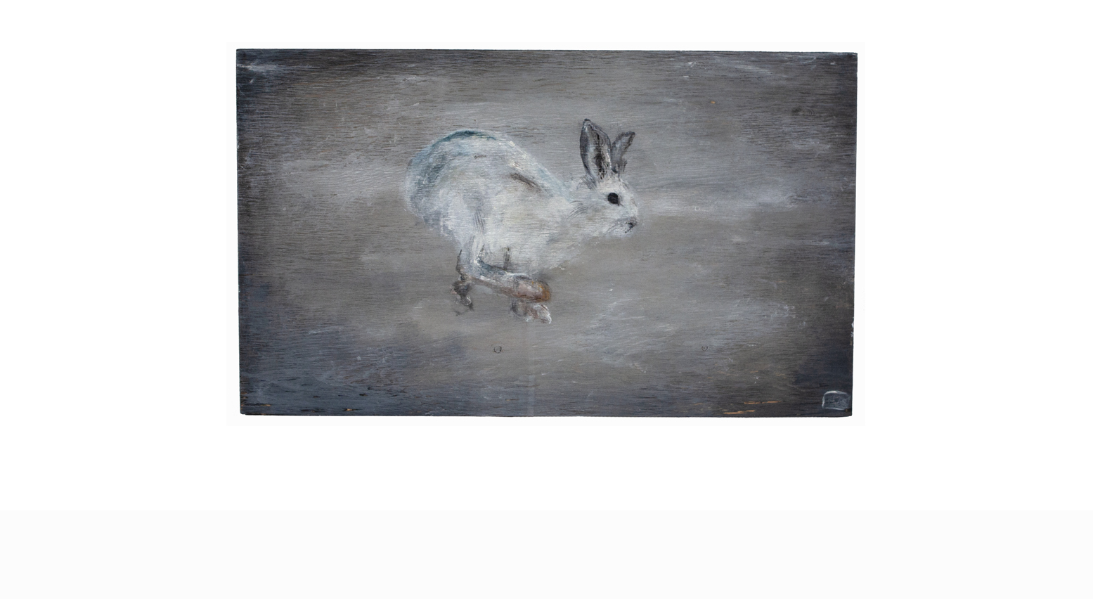 HARE ON WOOD I_Animals In Motion_MyriamRousseauArt.png