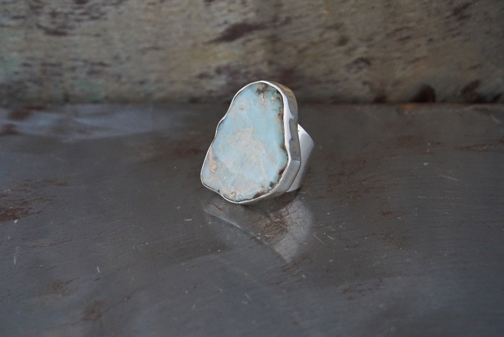 sea sediment jasper ring