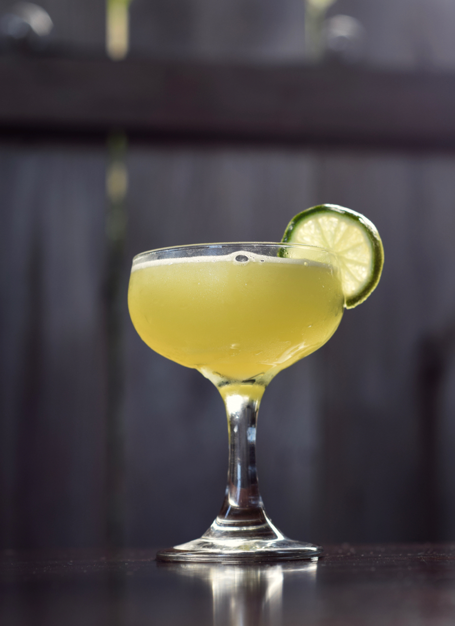 LAST WAVE - 1.5 oz gin1/2 oz green chartreuse1/2 oz nostrum pineapple turmeric ginger shrub3/4 oz fresh lime juice1/4 oz simple syrupShake with ice and strain.