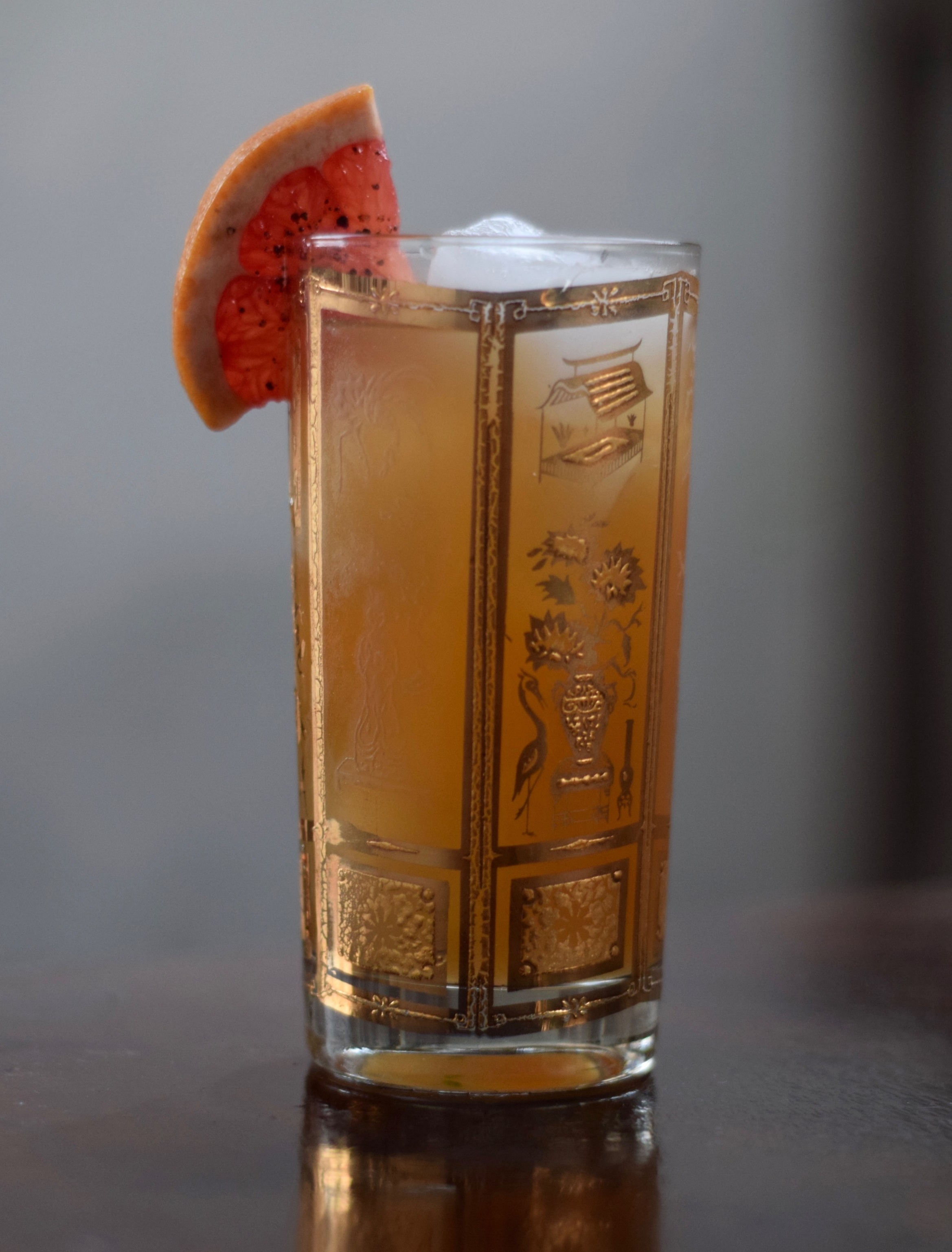PALOMITA - 1 oz nostrum grapefruit piloncillo chipotle shrub1 oz fresh lime juice1/2 oz agave nectar2 dashes angostura bitters (optional)6 oz soda waterdirections: shake first three ingredients with ice.top with soda and strain over fresh ice.