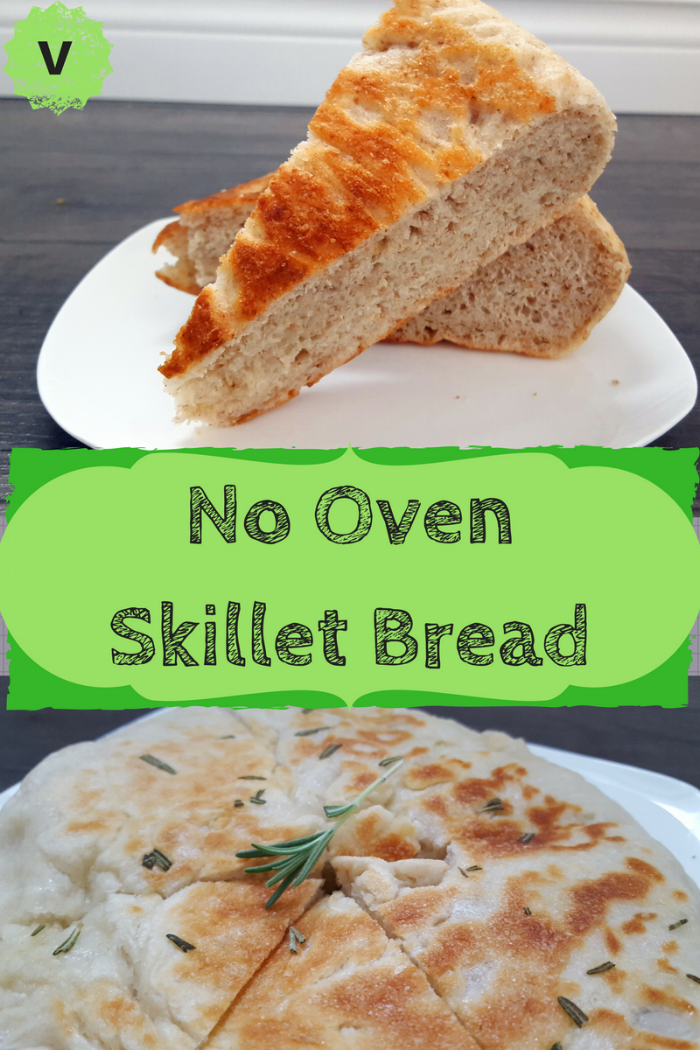 No Oven Skillet Bread
