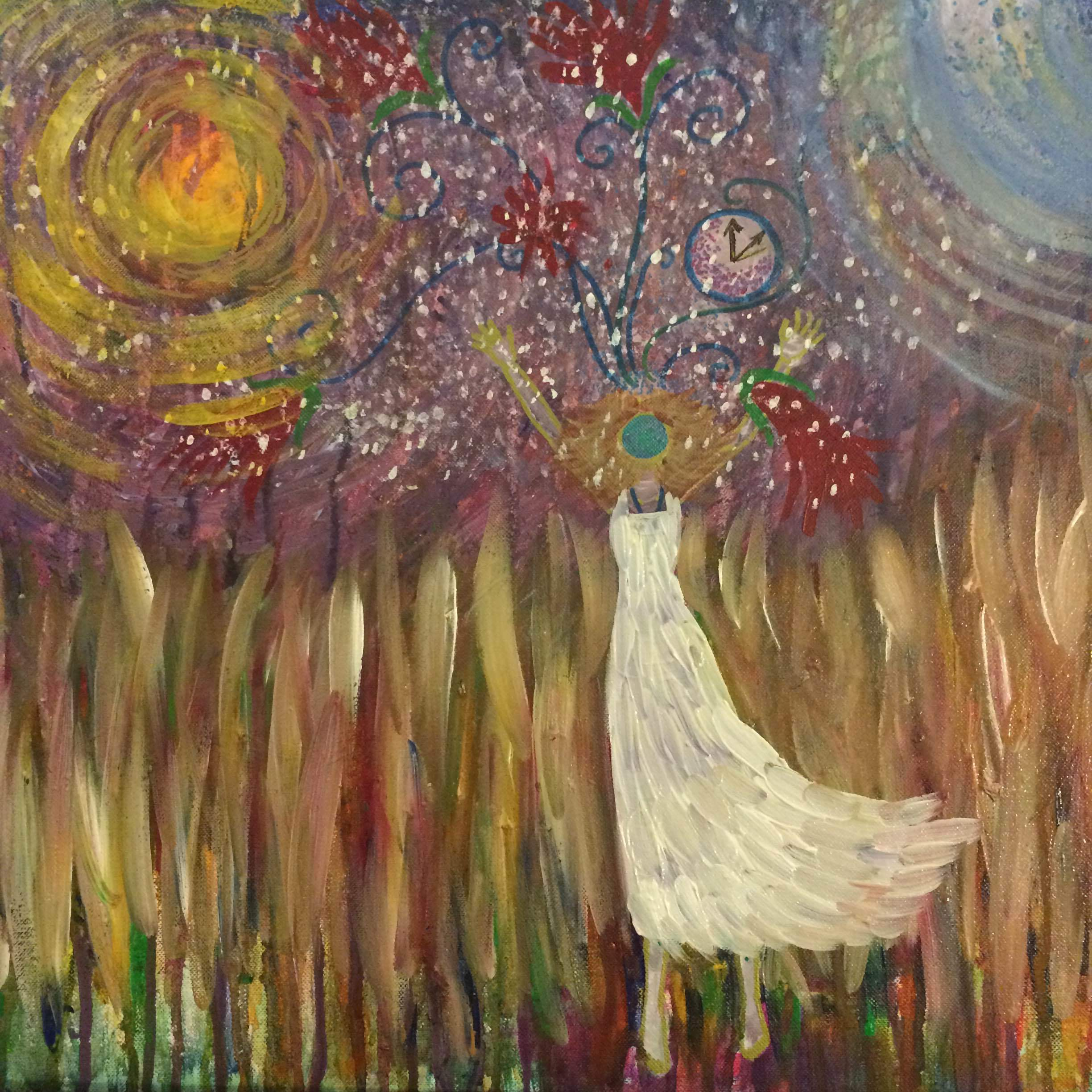 Painting by Amanda Kelly Espiritu