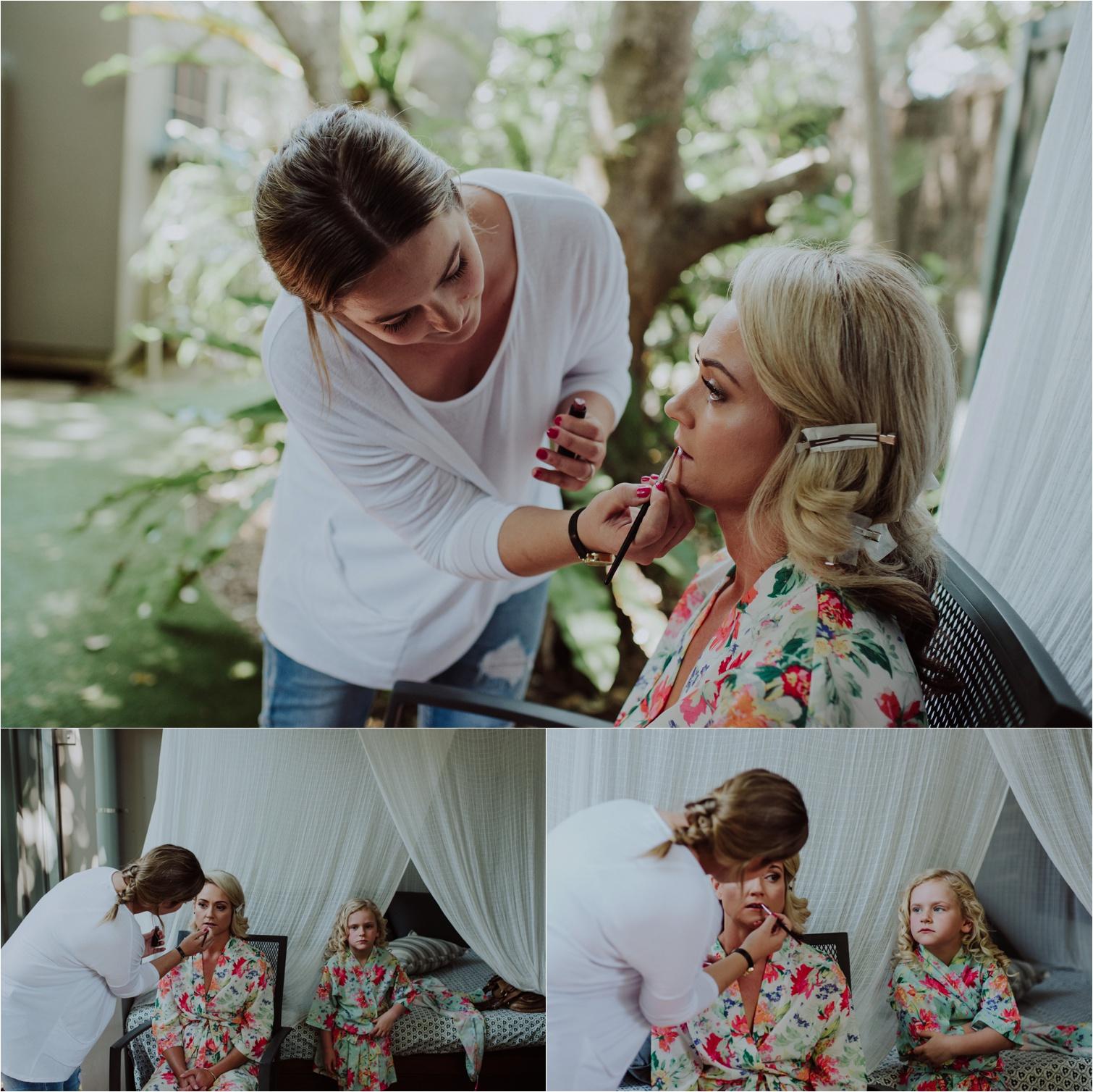 Byron Bay wedding makeup