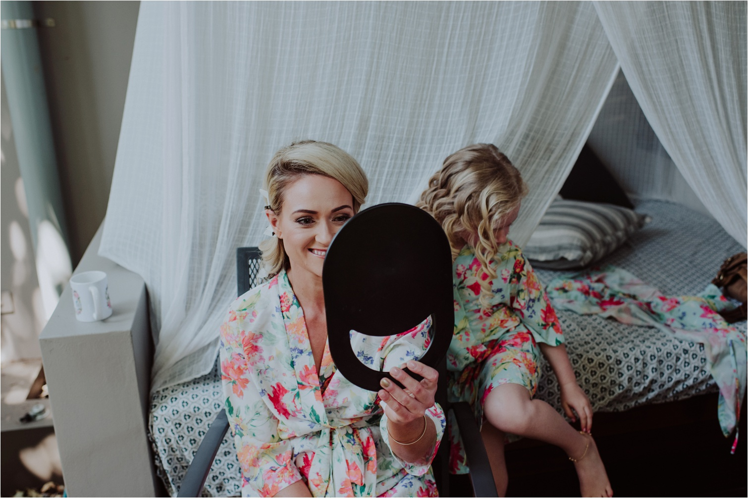 Wedding hair and makeup by Byron Bay Wedding Hair co