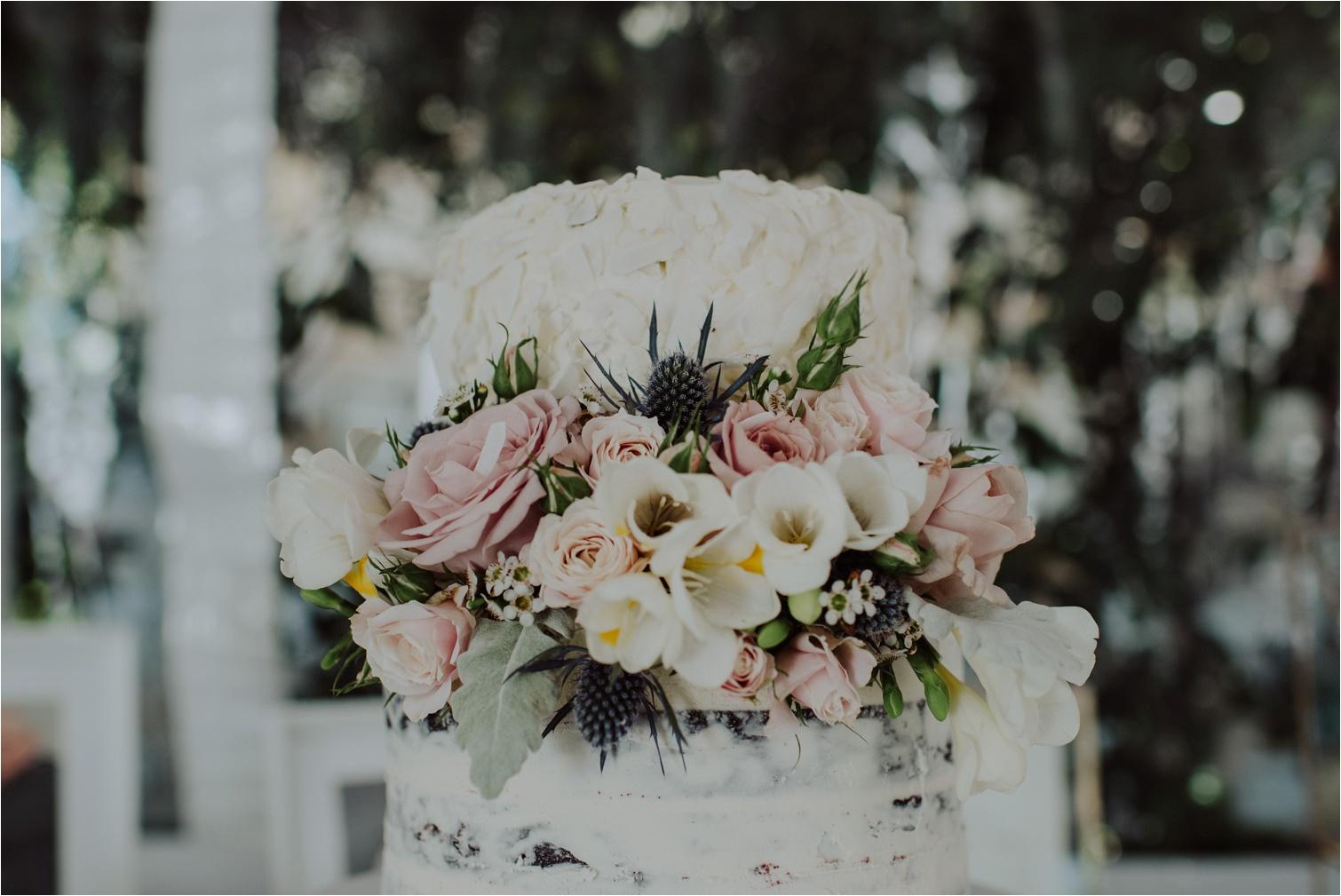 Rebellyous wedding cake byron bay