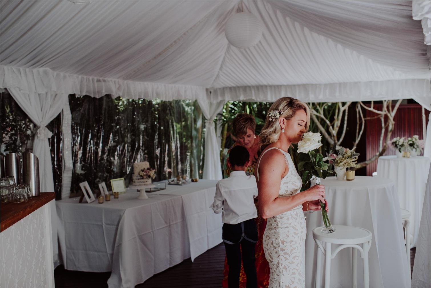Byron Bay French Petal wedding flowers