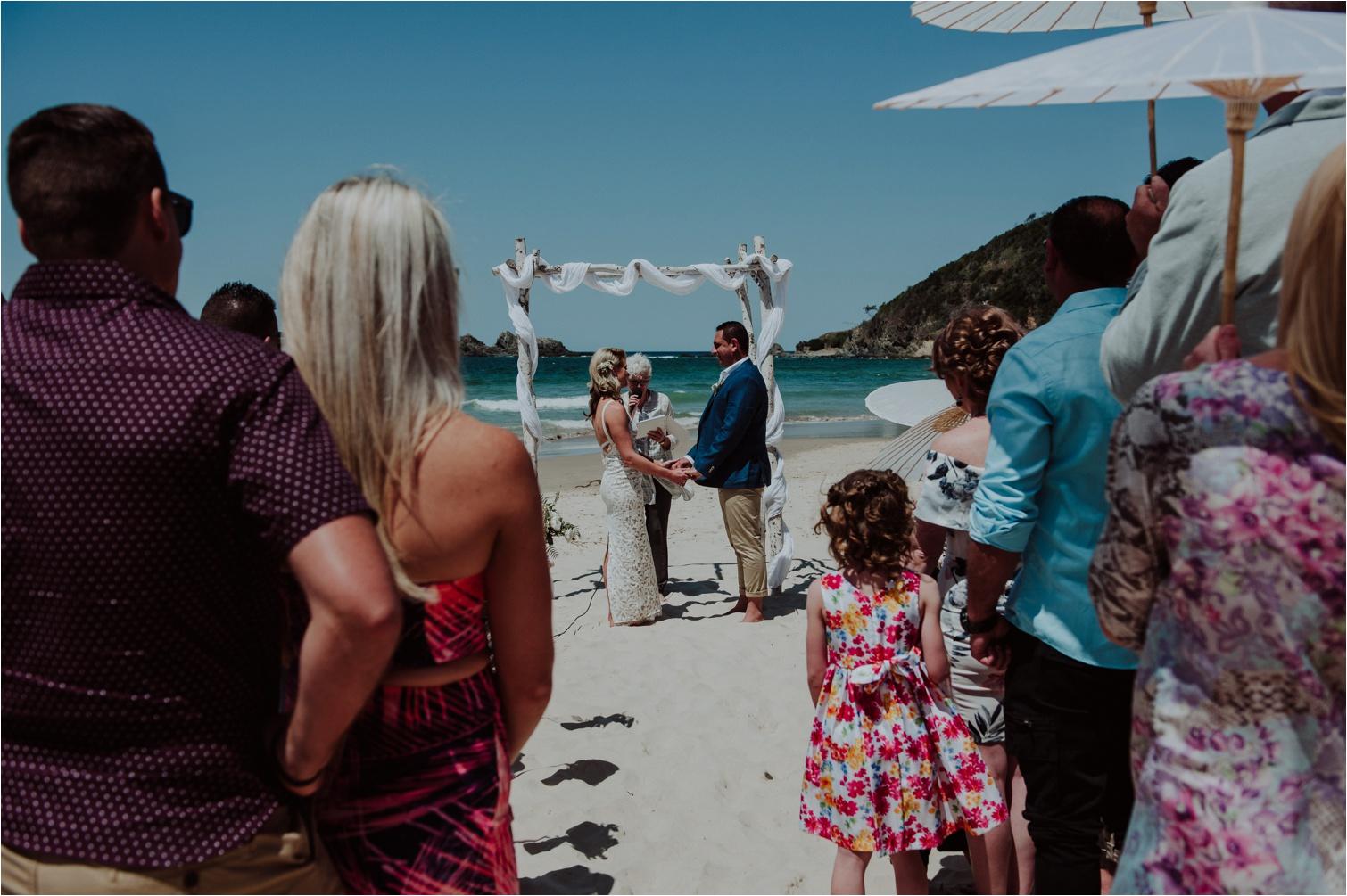 Broken Head Byron Bay beach wedding