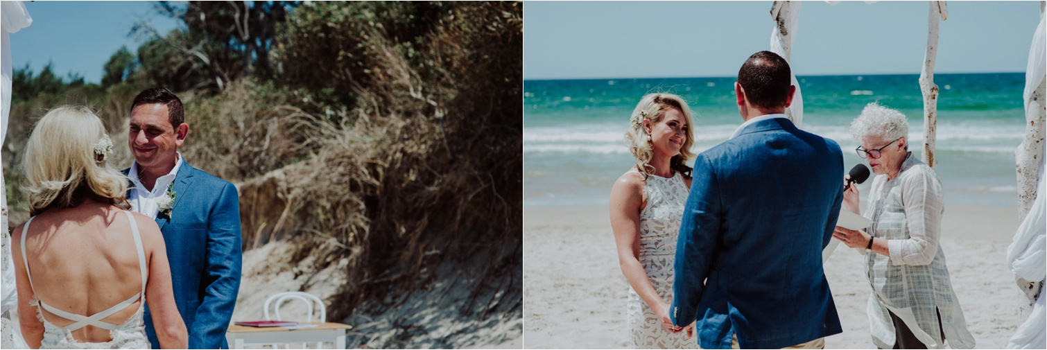 Kitty Lyons beach wedding celebrant