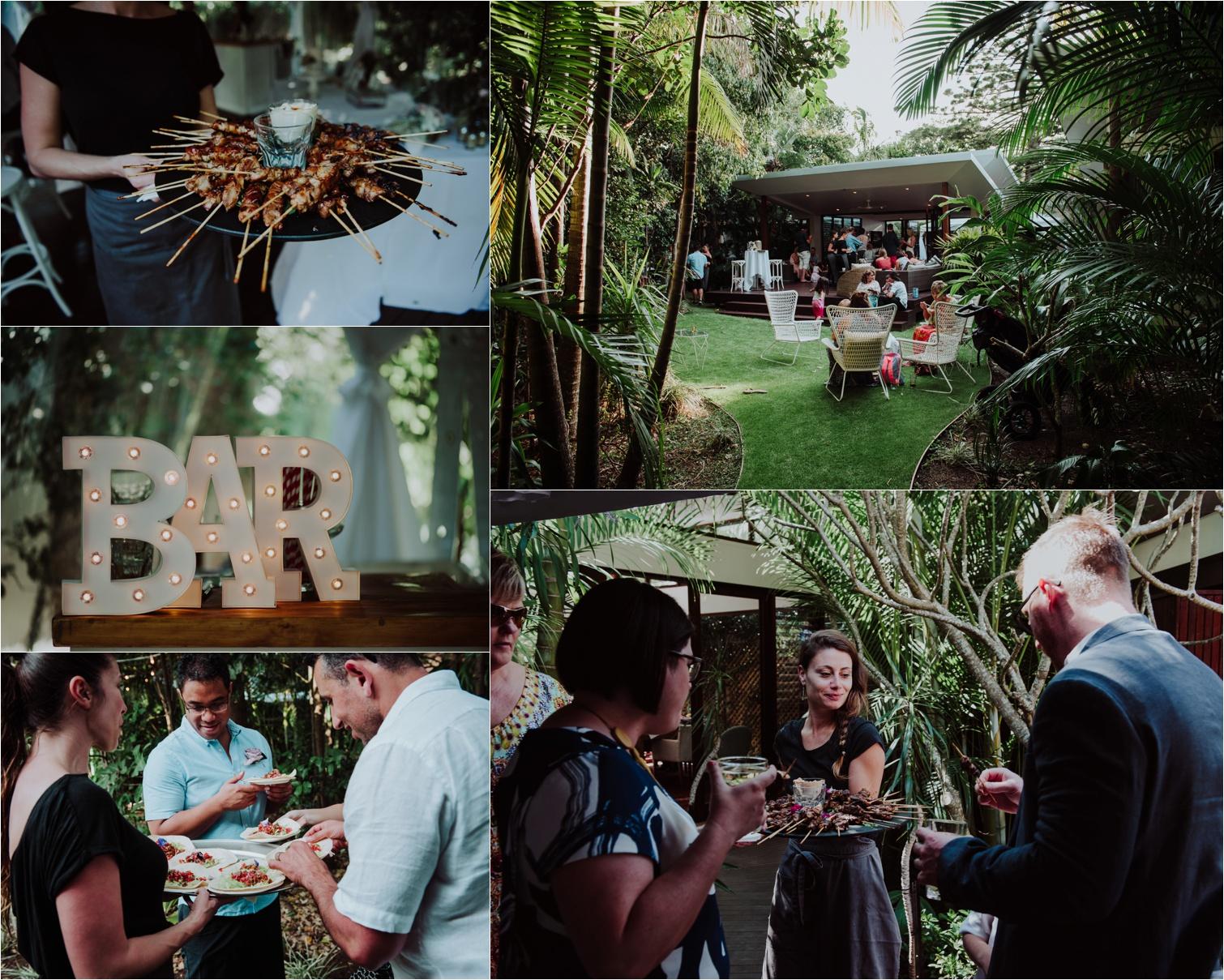 Byron Bay weddings catering