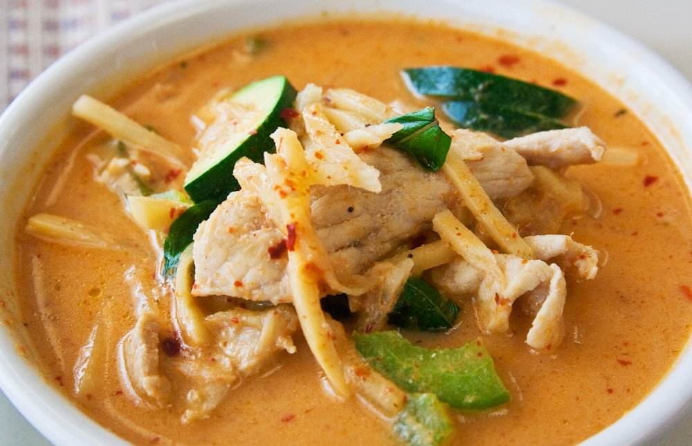 Yellow curry at Indo Thai