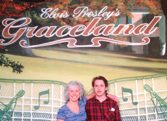 Me (right) & mom (left) taking in some local Memphis tourism circa 2012.