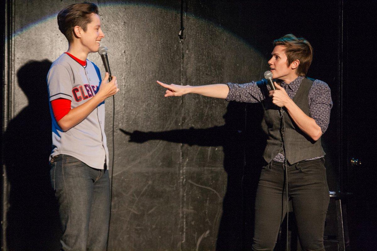 Cameron Esposito and Rhea Butcher
