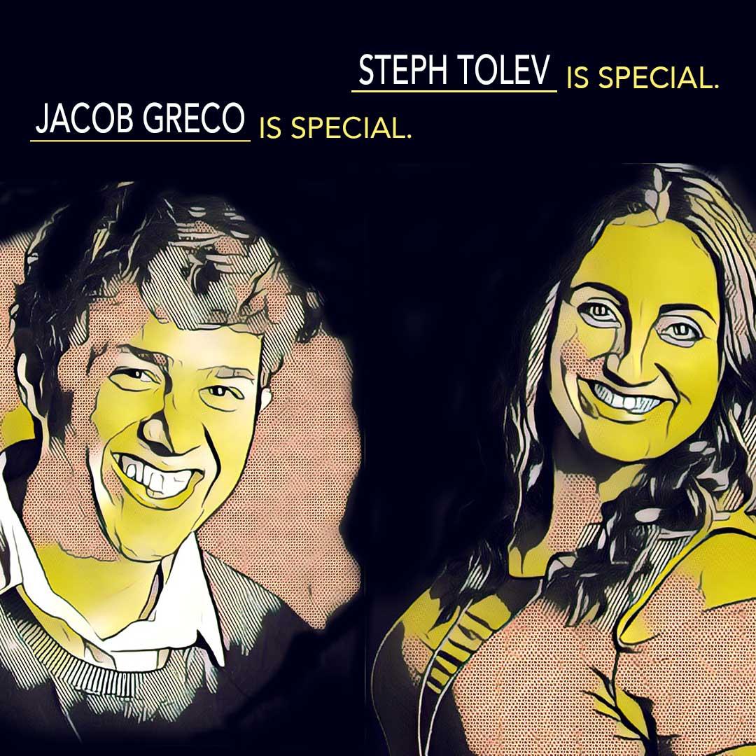 Jacob Greco Steph Tolev Brunch Club