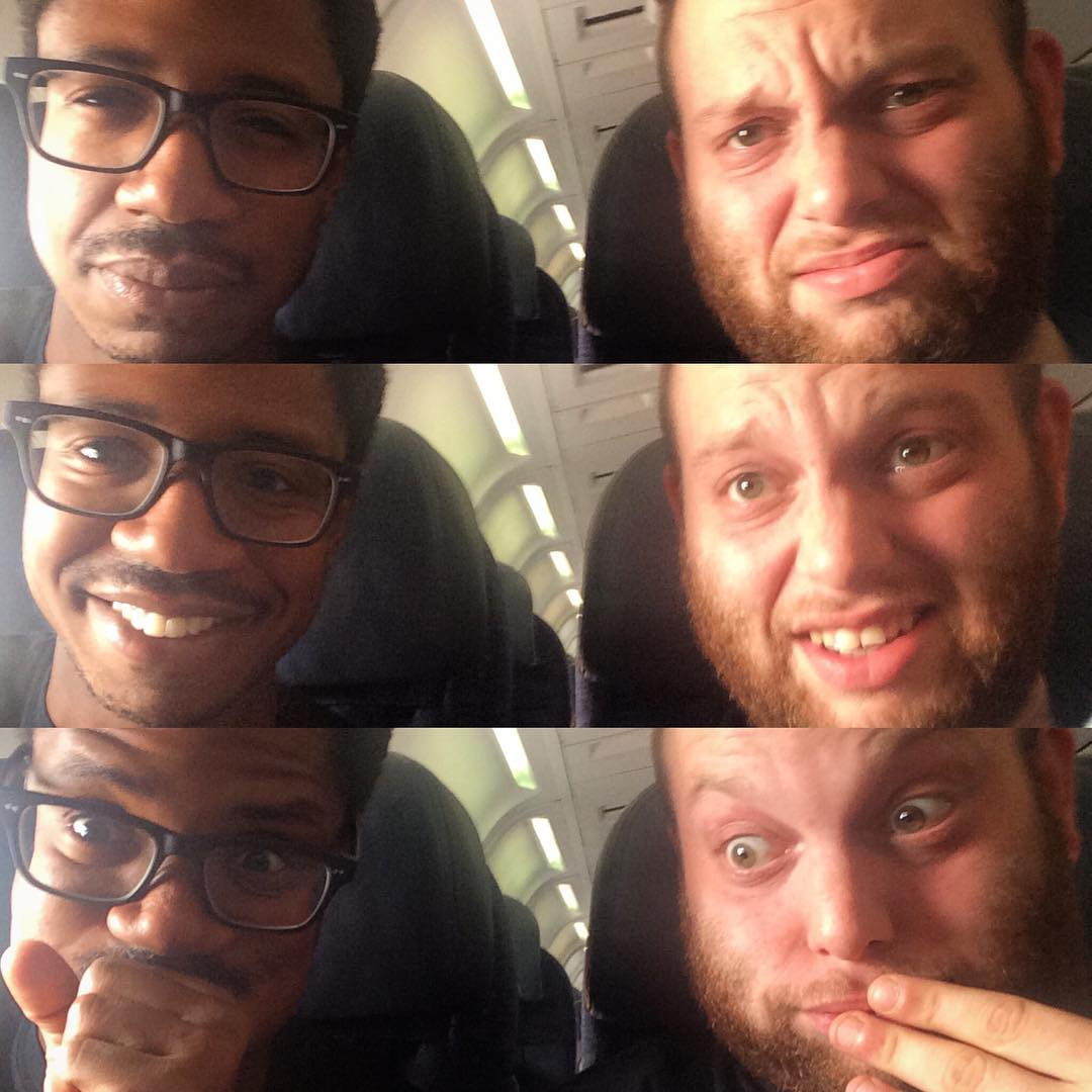 Ladies & Gentlemen...Chris & Dan!