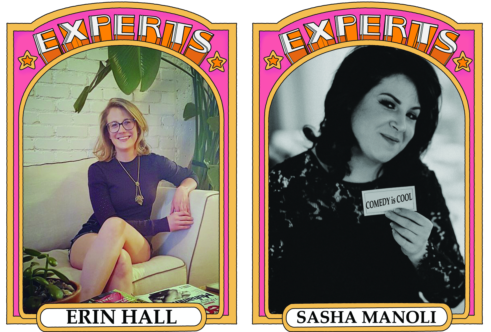 erin hall and sasha manoli for experts podcast