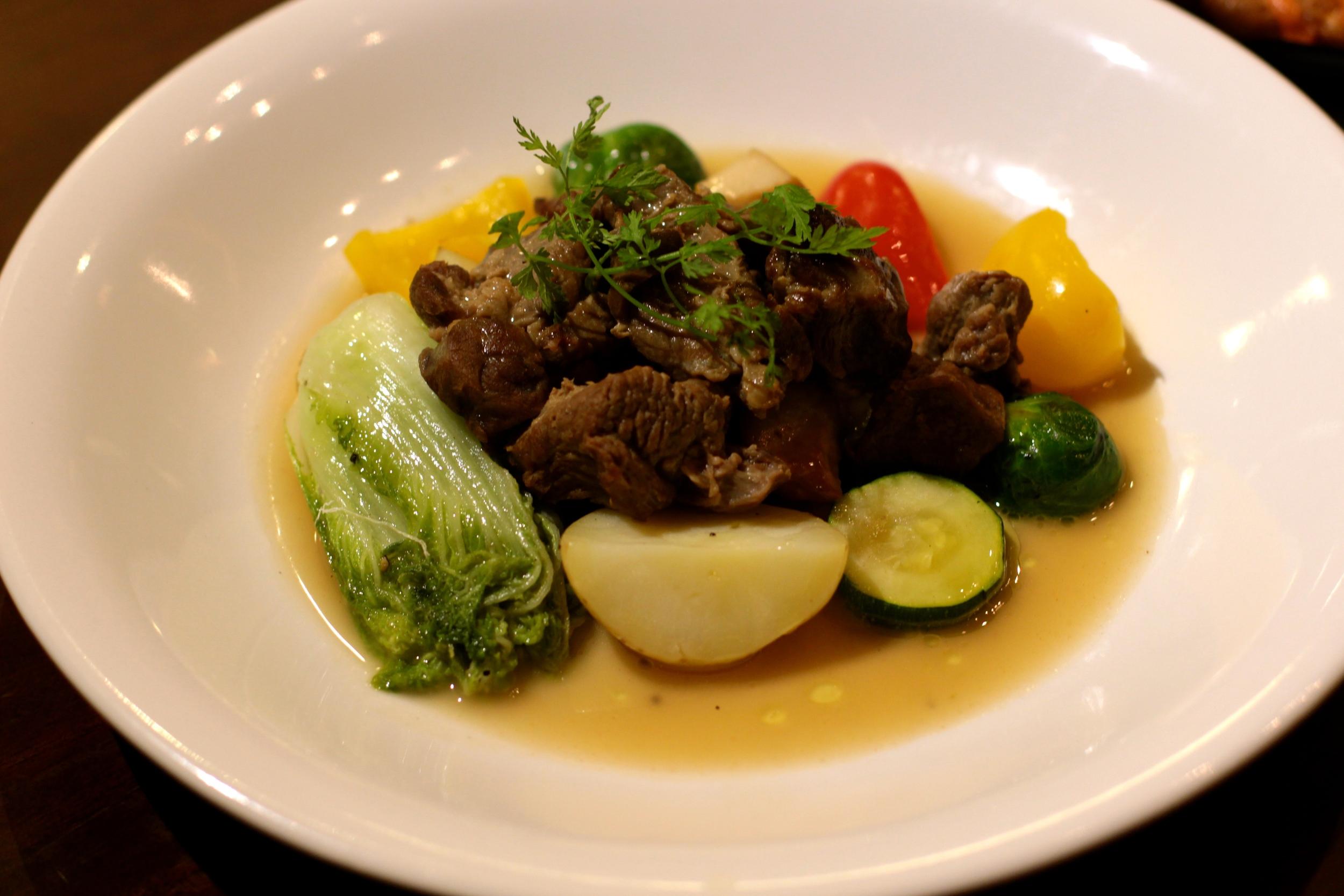 時蔬燉羊肉 Vegetable with Lamb Stew