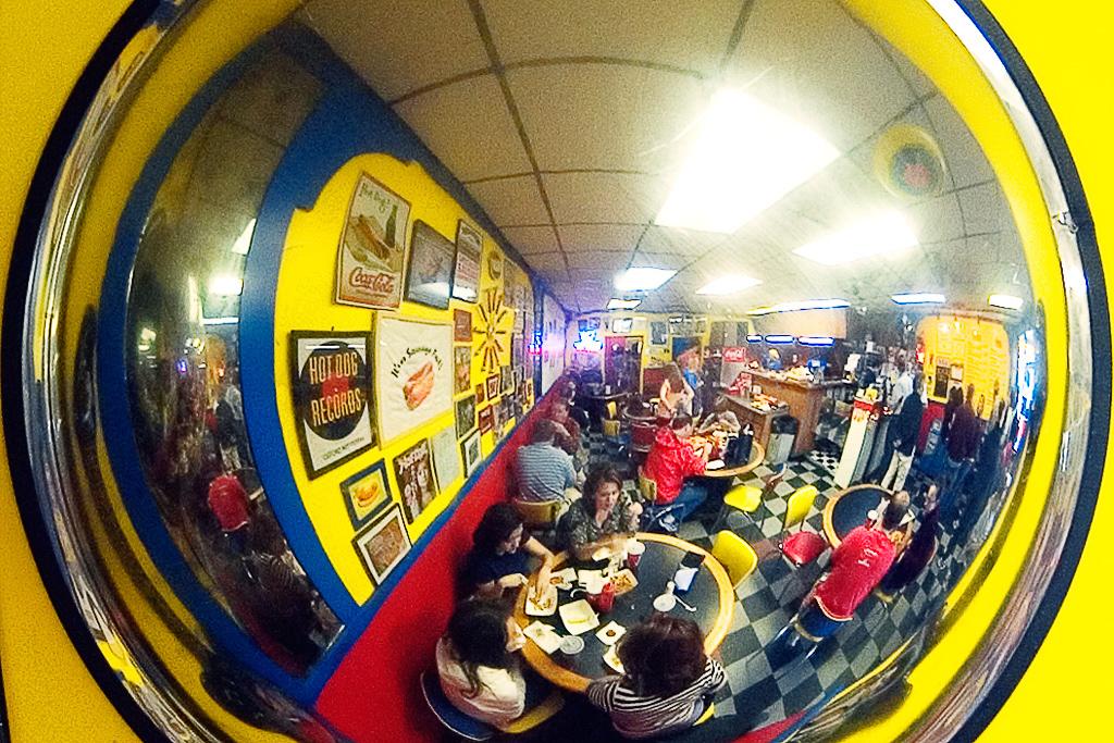 Hot Doug's Through the Looking Glass