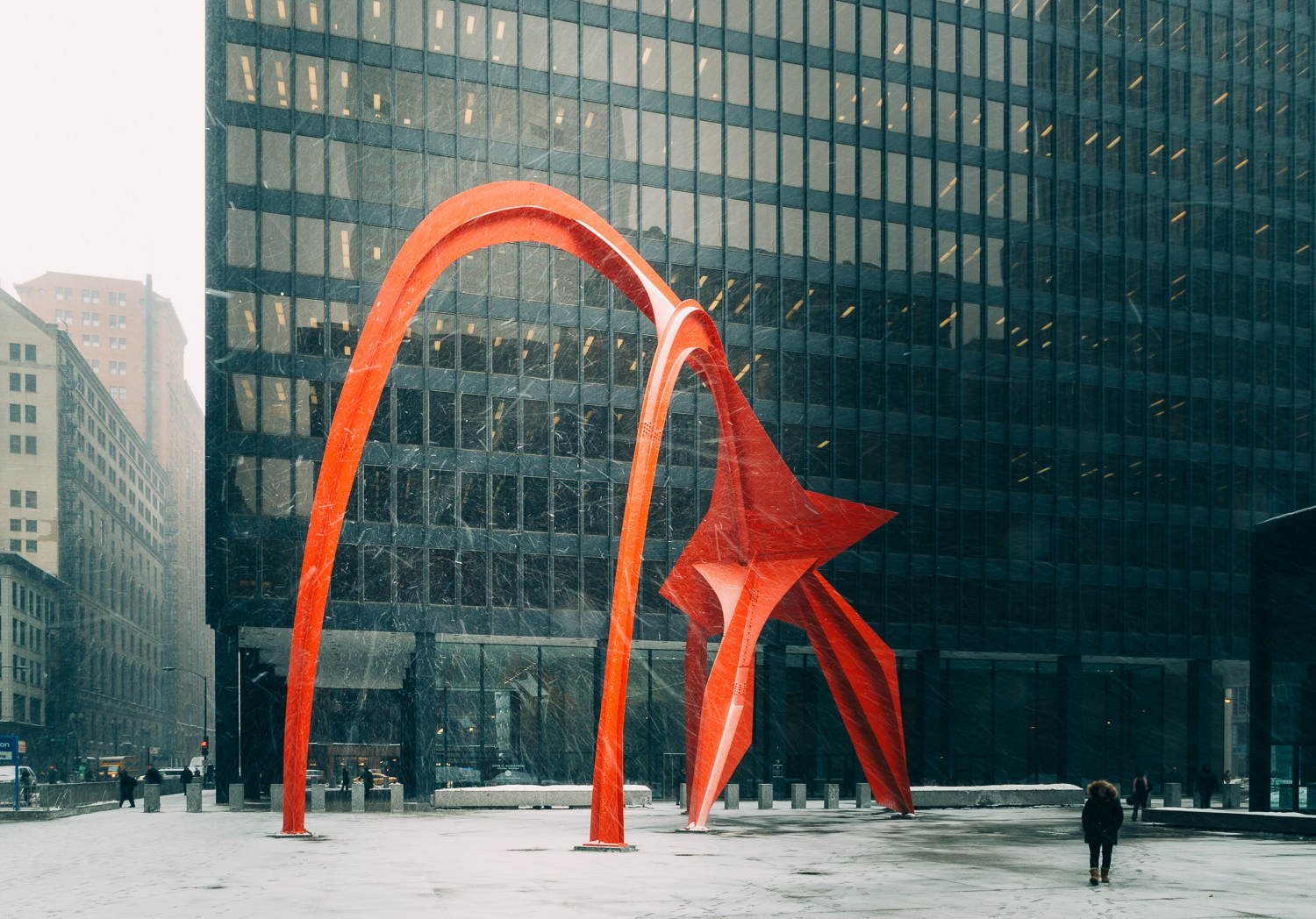 Calder in Winter