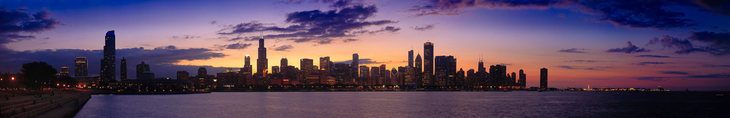 Chicago Sunset - original sized - private