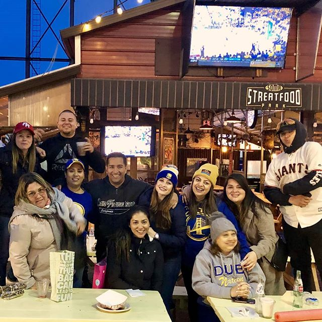 It may be raining outside, but you can still watch the boys in blue and gold rain down 3s inside the barn, packed with 4 big screen TVs and the loudest fans in#dubnation  See you at 6pm for#happyhourand Game 2 of the Conference Finals!🏀💙💛