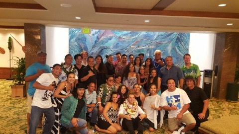 May 1, 2017 Our Malu Family showing LOVE and SUPPORT for DeAndre at his last show at Blue Note Hawaii before he moves to Australia to pursue his career! A HUI HOU DEANDRE!! You will be missed!