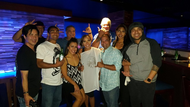 May 1, 2017 It's always a fun night out when it's with the Malu Cast!