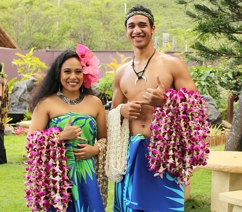 Aloha 🤙🏽 Have a great week everyone!  #Punahele #Teawe #Aloha #maluproductions #luau #wahine #kane #kamoanaluau