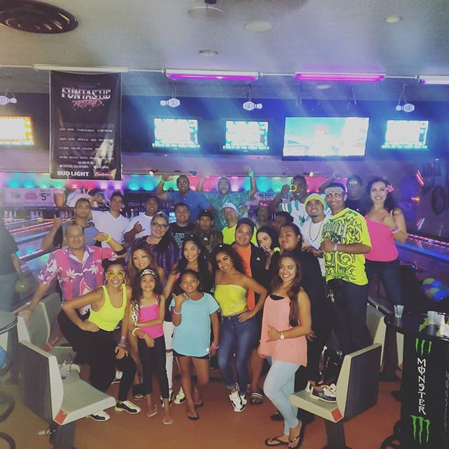 Last night at our MALU Cast social outing! Fun-filled, bright 💚 and definitely a STRIKE 🎳🤙🏽