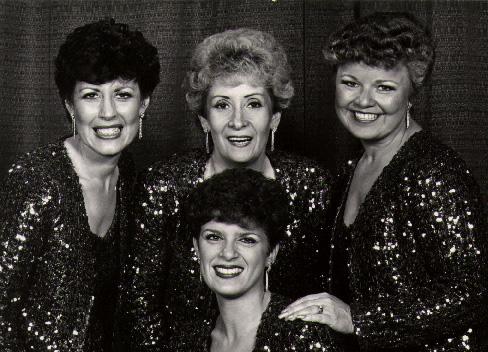 Clockwise from top left;Sandi Wright, Elizabeth Hardcastle, Diane Huber, Shelly Sweet.