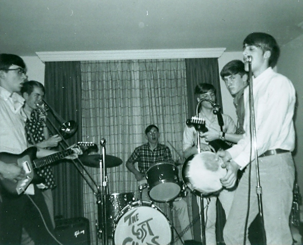47 - The Lost Chords - Ray, Ernie, Tom, Herb, Tom & Lloyd - Rehearsing .jpg