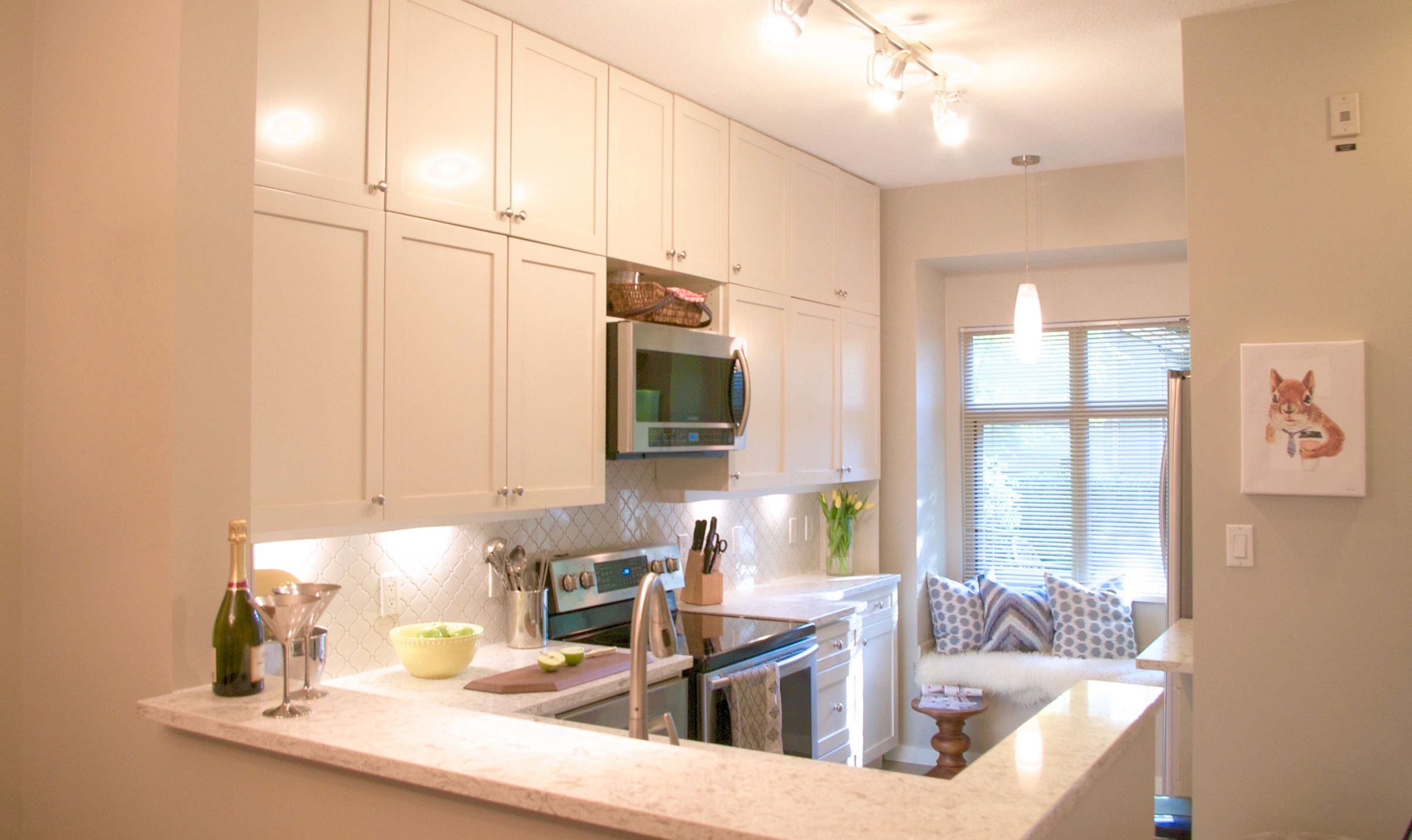 PROJECT PROFILE: - Childhood Life Lessons in a Kitchen Makeover