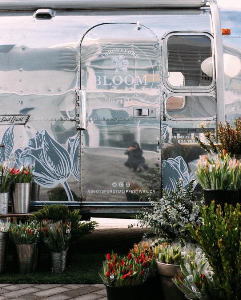 Bloom Mobile - Abbotsford Tulip Festival //Source: Instagram   @abbotsfordtulipfestival