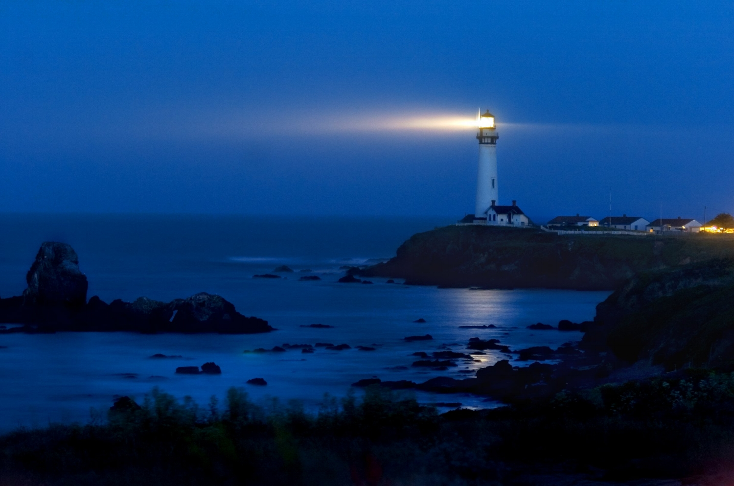 The Pigeon Point Lighthouse in Pescadero on Wednesday June 1, 2005.