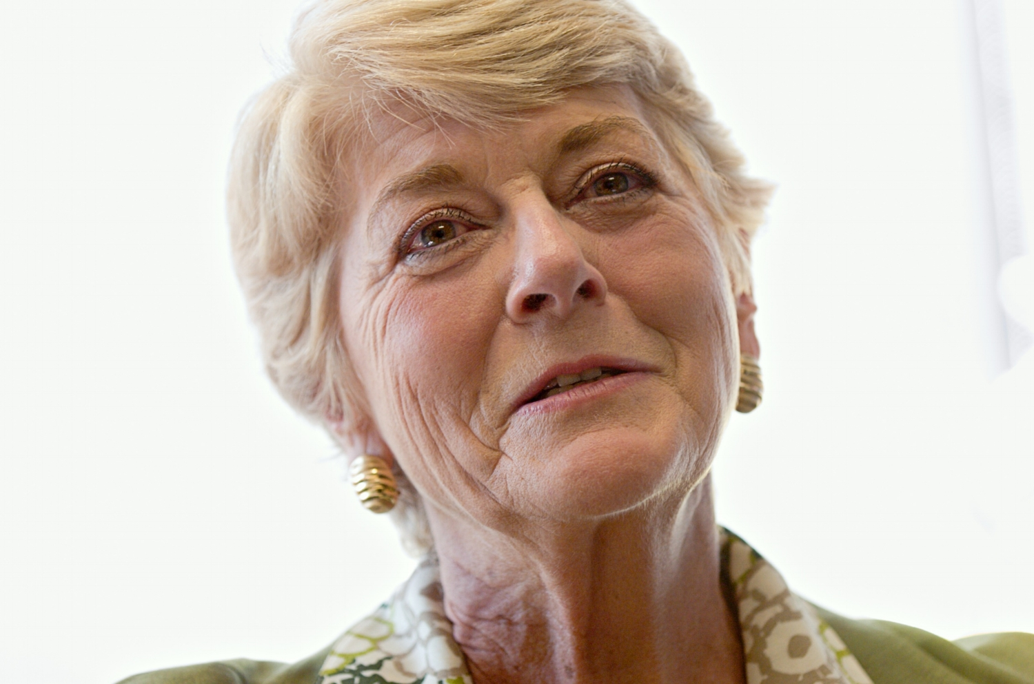 Former vice-presidential candidate Geraldine Ferraro at the offices of Global Consulting Group where she works as a Senior Advisor, in Sacramento on Wednesday June 13, 2007.
