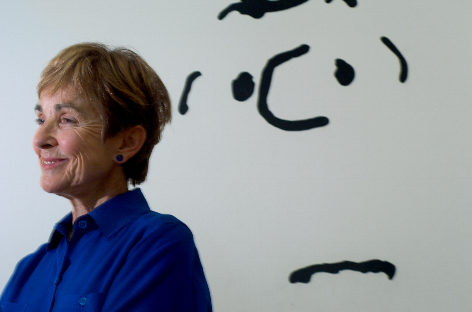"""Jeannie Schulz, wife of """"Peanuts"""" comic strip creator Charles Schulz at the Charles M. Schulz Museum in Santa Rosa on Wednesday July 18, 2007."""
