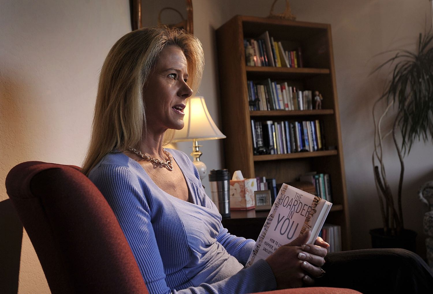 """Dr. Robin Zasio in her office in Sacramento on Wednesday, November 9, 2011. Zasio is """"Dr. Zasio"""" from the television program, """"Hoarders."""""""