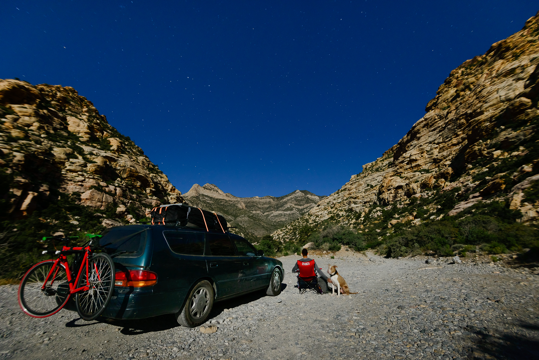 Prime office space in mountain lion laded BLM land. Red Rock Canyon, NV.