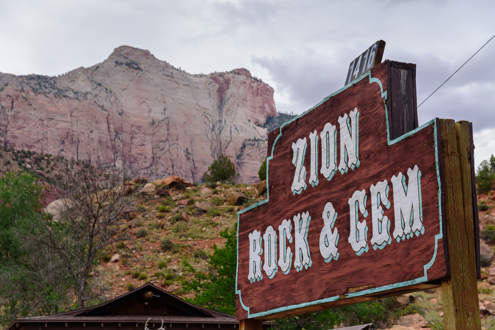 Like we could pass this up. Zion National Park, UT.