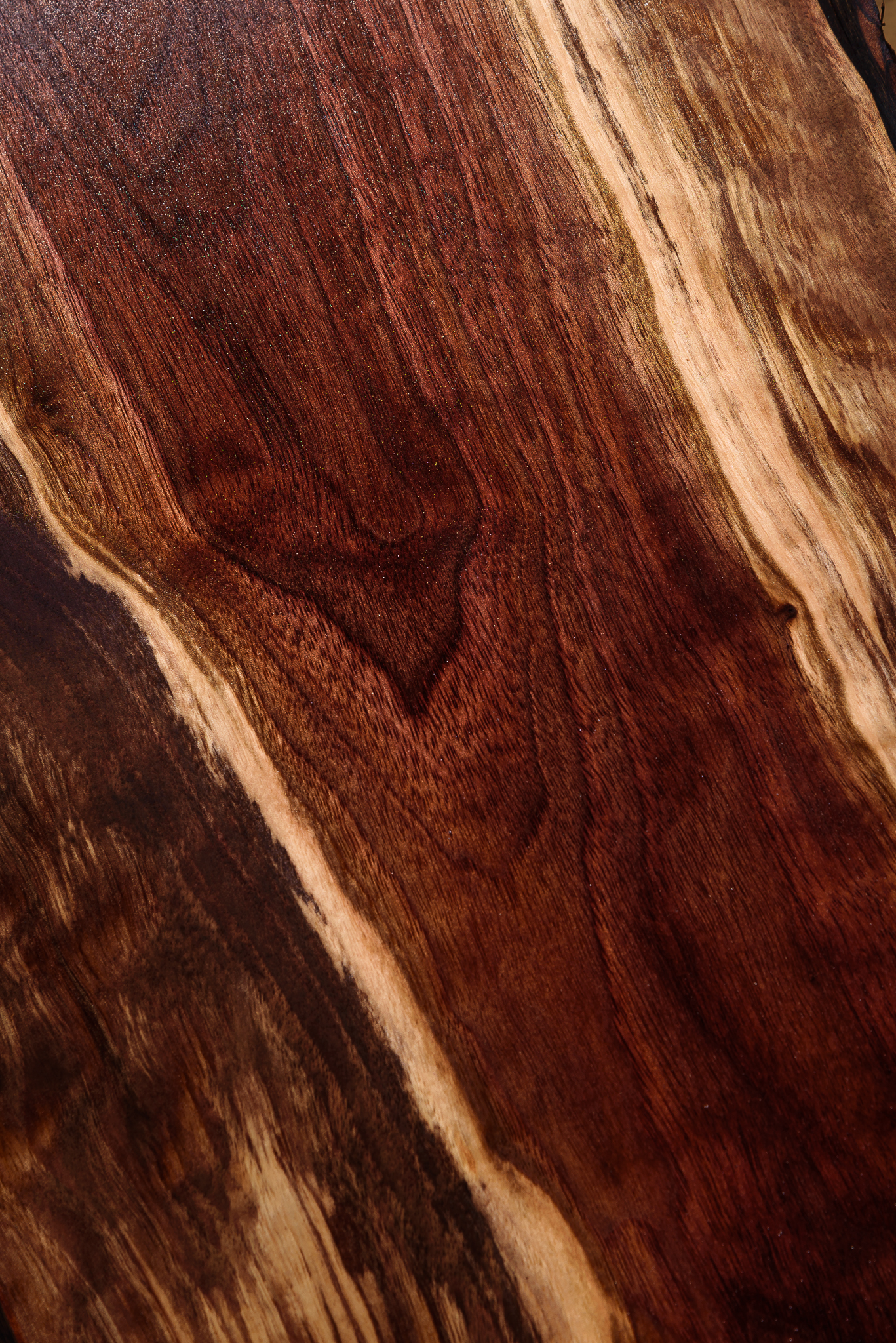 7/2/15. Day 2 and I already could barely keep on track. I was busy building furniture for the store and I could only squeexe in this image of black walnut wood grain. Lotttttts of sanding.